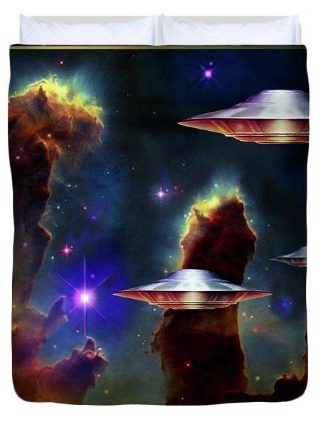 The  Eagle  Nebula  Duvet Cover