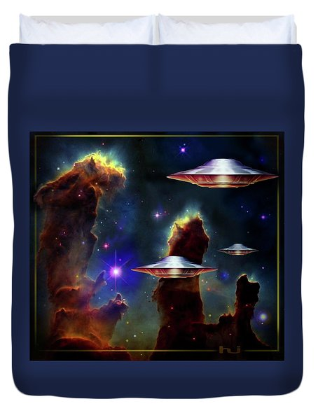 The  Eagle  Nebula  Duvet Cover