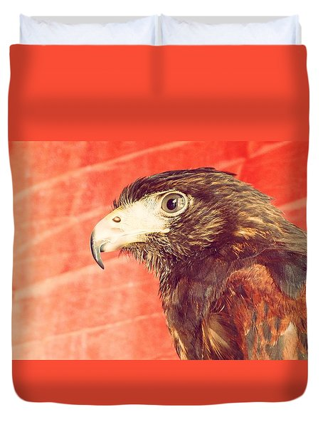 The Eagle Duvet Cover by Pedro Venancio