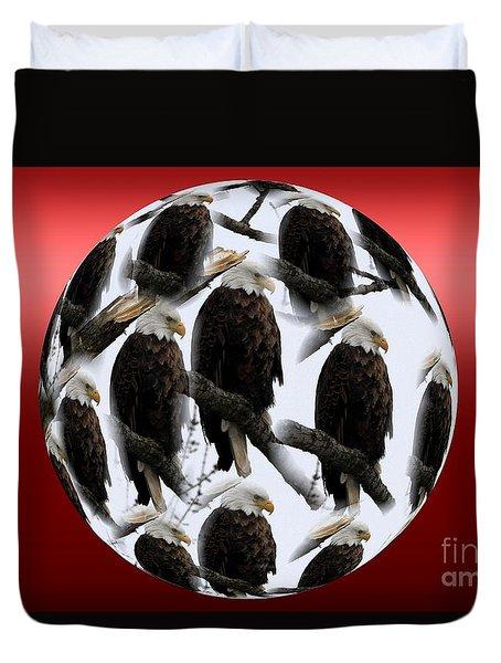 The Eagles Duvet Cover
