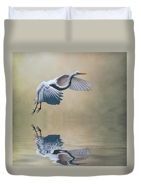 The Early Bird Duvet Cover by Brian Tarr