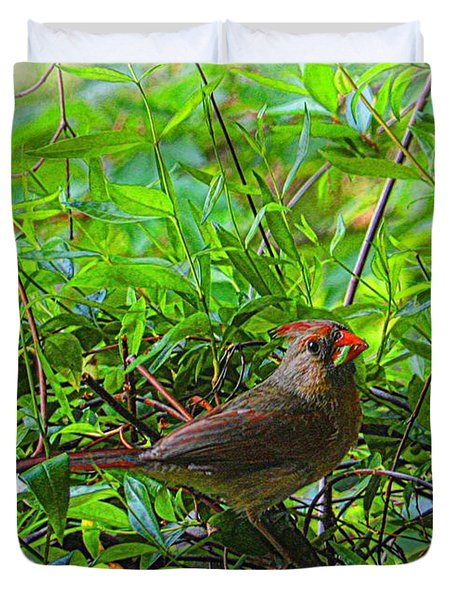 The Early Bird Duvet Cover