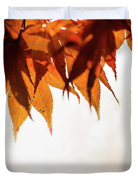 The Eaves Of Season Duvet Cover