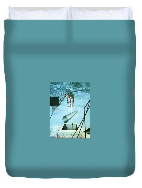 The Edge Duvet Cover