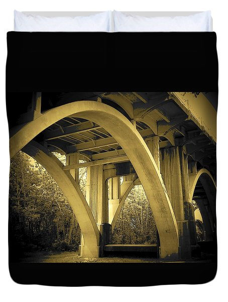 The Edmund Pettus Bridge I Duvet Cover