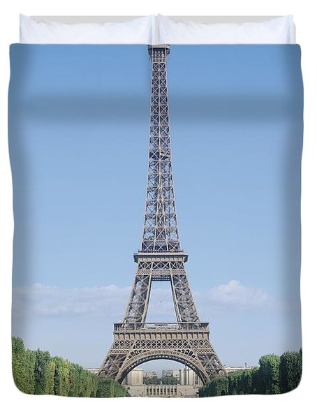 The Eiffel Tower Duvet Cover by French School