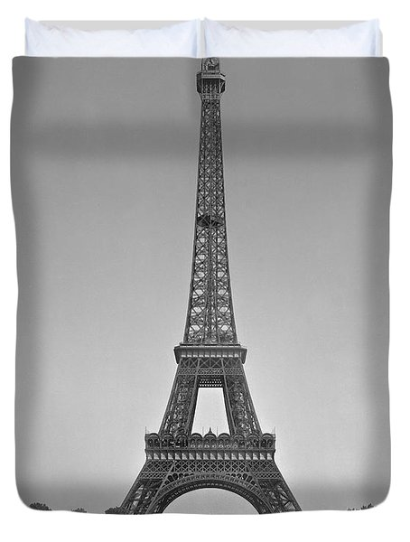 The Eiffel Tower Duvet Cover by Gustave Eiffel