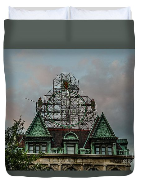 The Electric City Duvet Cover