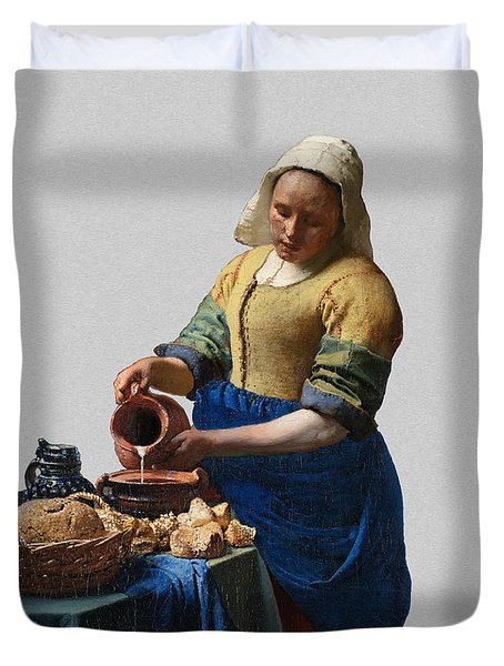 The Elegance Of The Kitchen Maid Duvet Cover