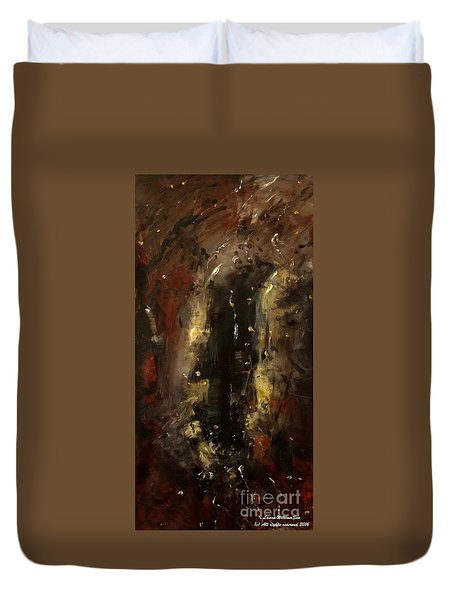 The Elements Earth #1 Duvet Cover