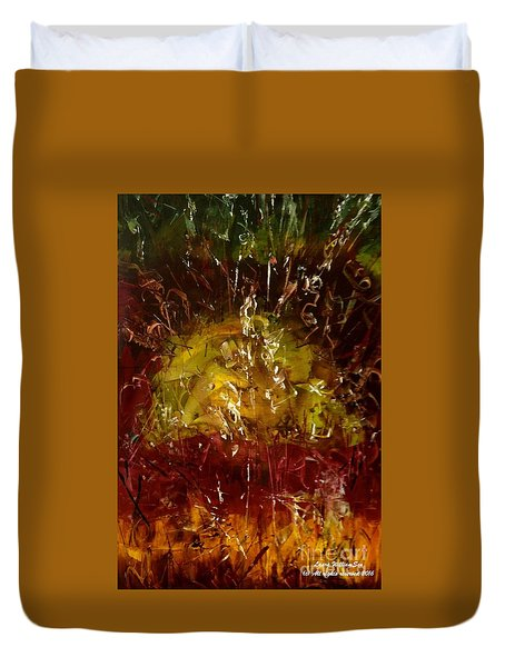 The Elements Earth #4 Duvet Cover