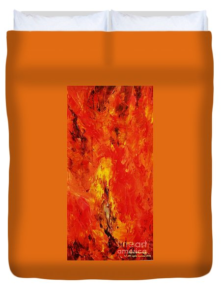 The Elements Fire #1 Duvet Cover