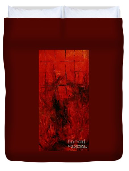 The Elements Fire #3 Duvet Cover
