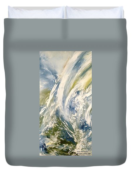 The Elements Water #1 Duvet Cover