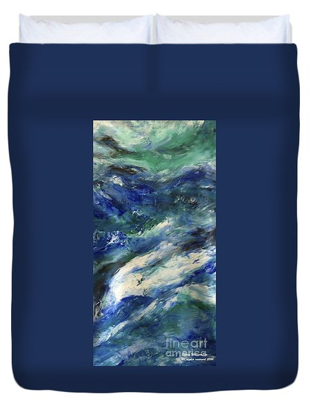 The Elements Water #4 Duvet Cover
