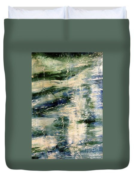 The Elements Water #5 Duvet Cover