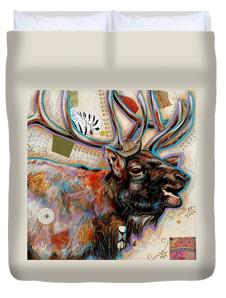 The Elk Duvet Cover