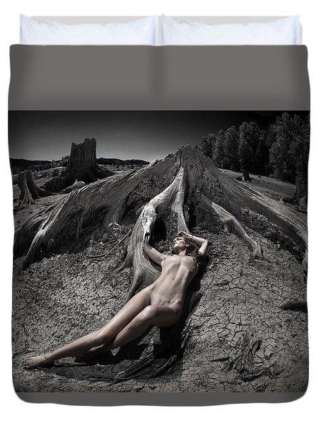 Deaths Embrace Duvet Cover