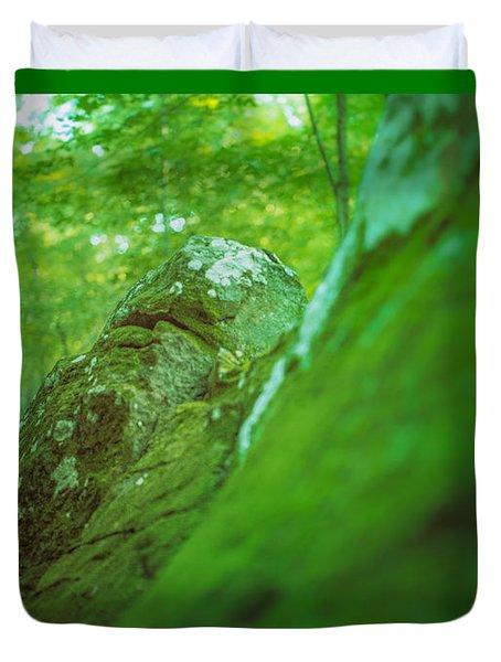 The Emerald Dream Duvet Cover