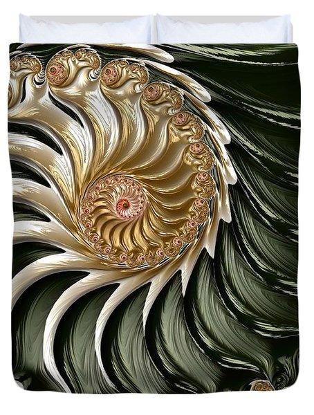 The Emerald Queen's Nautilus Duvet Cover