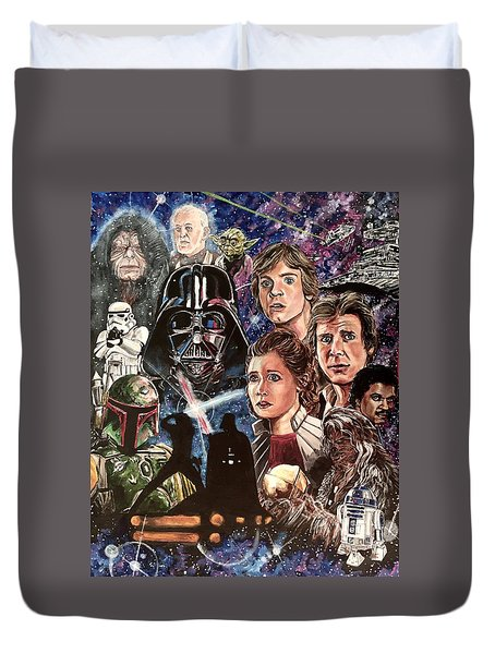 The Empire Strikes Back Duvet Cover