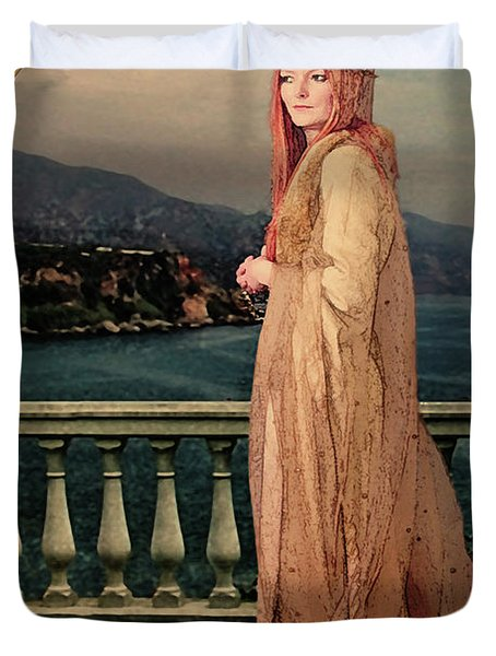 The Empress Duvet Cover by John Edwards