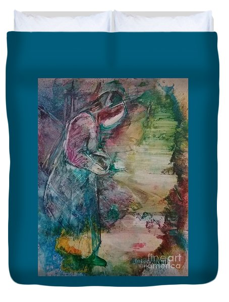 The Empty Tomb Duvet Cover