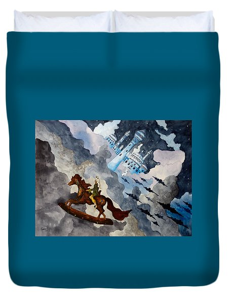 The Enchanted Horse Duvet Cover