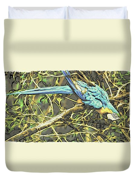 The Enchanted Jungle Duvet Cover