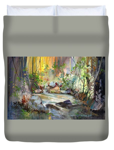 The Enchanted Pool Duvet Cover