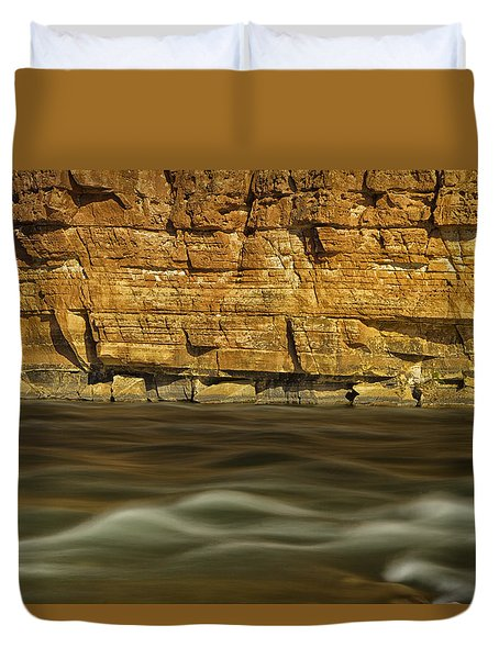The Enchanting Colorado Duvet Cover