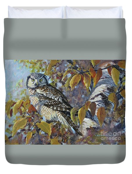 The End Of Autumn Duvet Cover