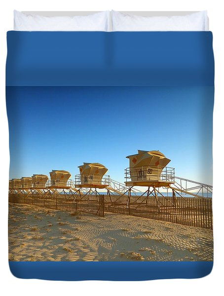 The End Of Summer Duvet Cover by Everette McMahan jr