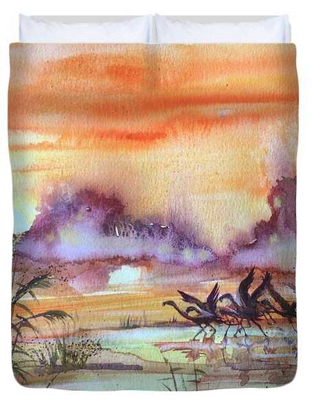 The End Of The Day 2 Duvet Cover