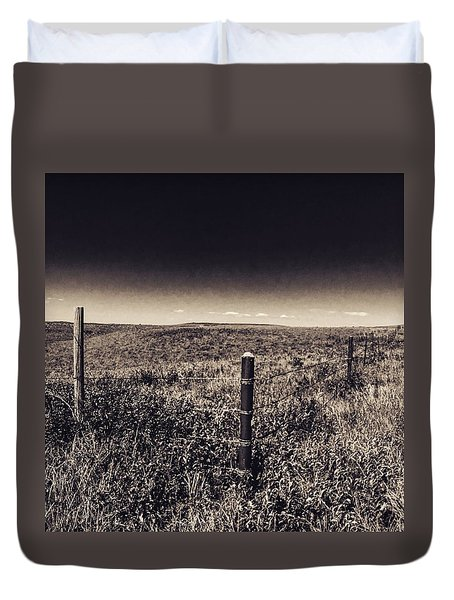 The End Of The Range Duvet Cover