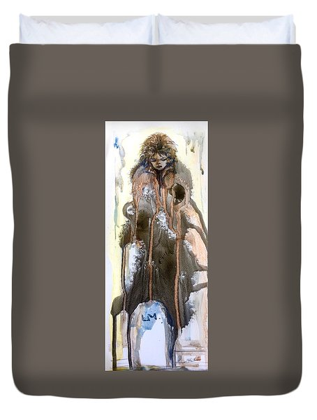 The End Of The Tears Duvet Cover