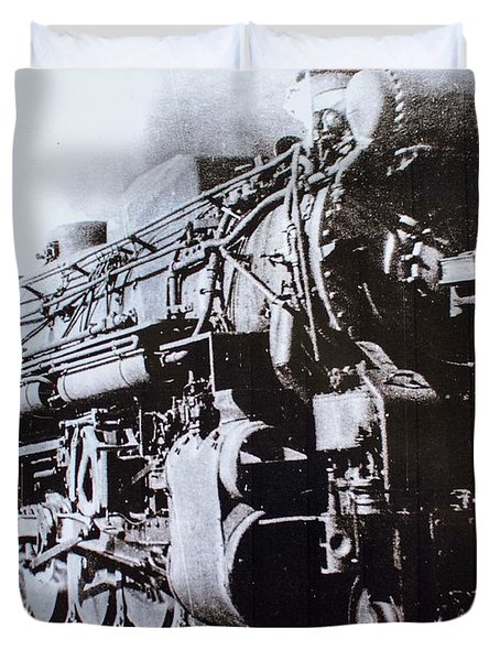 The Engine  Duvet Cover