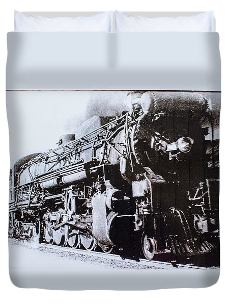 The Engine  Duvet Cover