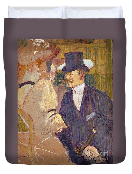 The Englishman  Duvet Cover