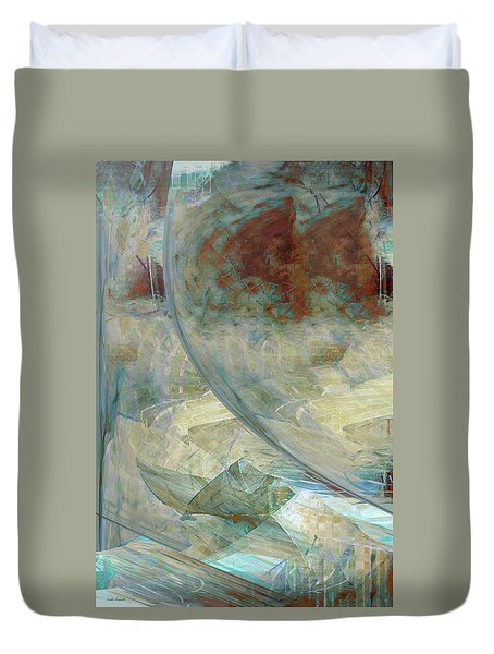 The Enigma Duvet Cover