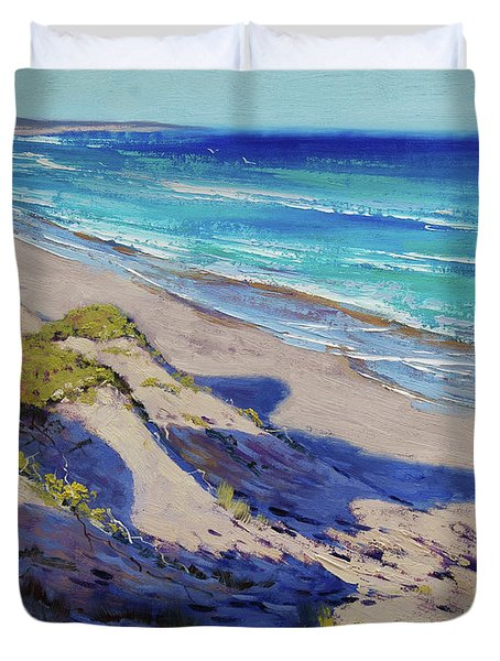 The Entrance Beach Dunes, Australia Duvet Cover