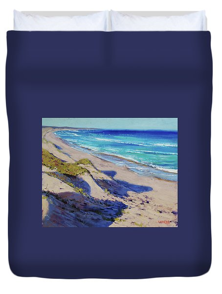 The Entrance Beach Dunes, Australia Duvet Cover