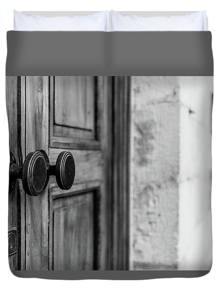 The Entrance Duvet Cover