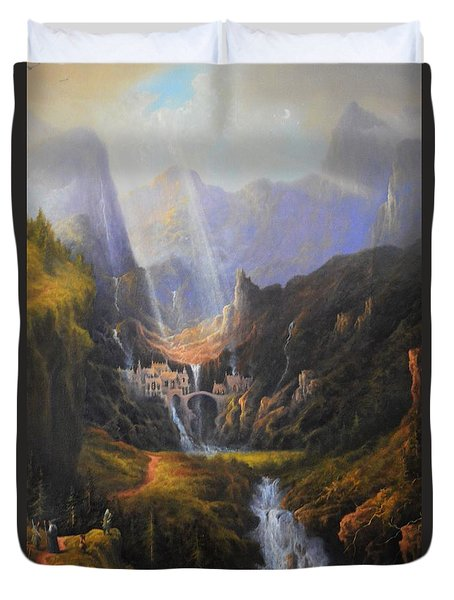 The Epic Journey Duvet Cover