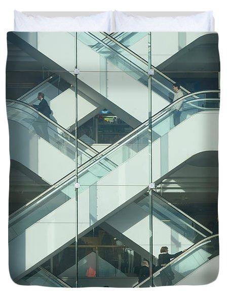 The Escalators Duvet Cover