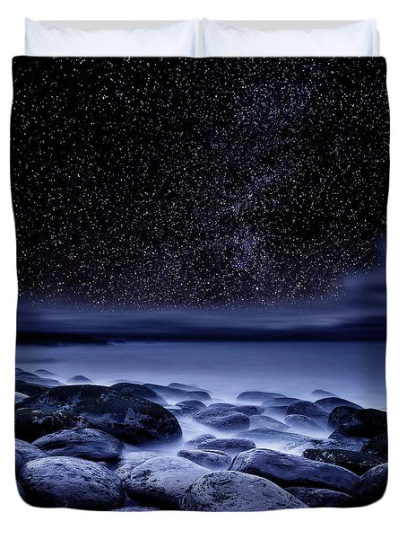 Duvet Cover featuring the photograph The Essence Of Everything by Jorge Maia