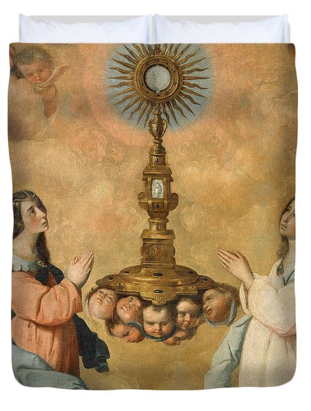 The Eucharist Duvet Cover