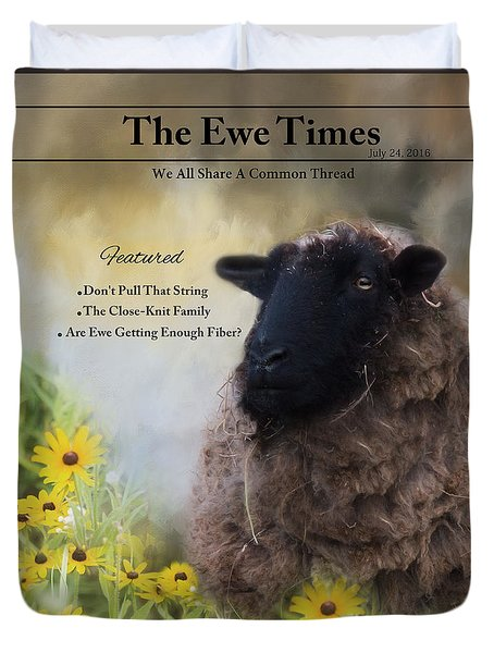 The Ewetimes Duvet Cover