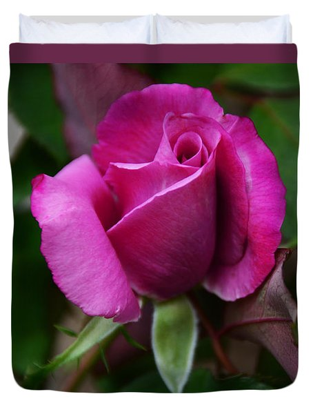 Experience Of A Rose Duvet Cover