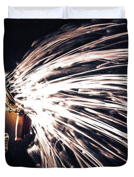 The Exploding Growler Duvet Cover